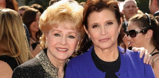Debbie Reynolds e la figlia, Carrie Fisher