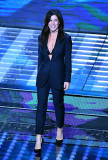 Italian singer Paola Turci performs on stage during the 67th Festival of the Italian Song of Sanremo at the Ariston theater in Sanremo, Italy, 08 February 2017. The 67th edition of the television song contest runs from 07 to 11 February.