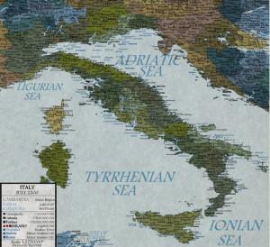 Se non si corrererà ai ripari L'Italia nel 2100 sarà così
