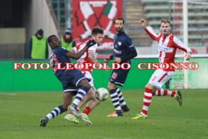 Partita Bari Vicenza 2-1 Servizio Fotografici di Leopoldo Cisonno. Clelia riportalo sulla pubblicazione e buon lavoro.