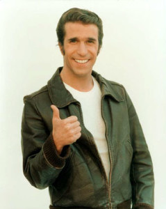 Fonzie ,happy day