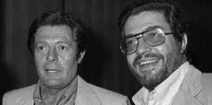 Marcello Mastroianni ed Ettore Scola