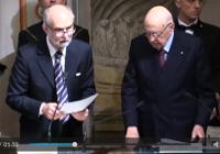 Giorgio Anselmi e Giorgio Napolitano