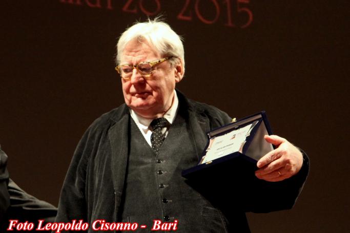 Il regista Alan Parker riceve il Fipresci 90 Platinum Award I