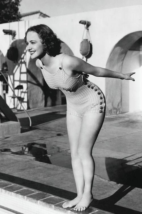 Olivia de Havilland tra le più belle pin up