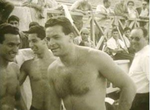 Carlo Petraroli nuotatore campione