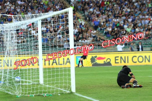 La rete di Martial per l'1-0 francese