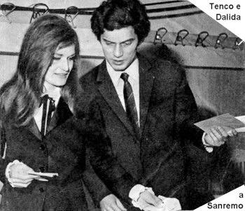 Tenco e Dalida a Sanremo