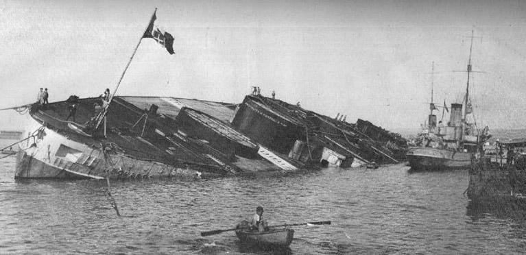 la-nave-nel-porto-di-taranto-25-gennaio-19212