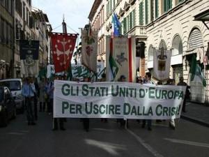 Firenze: manifestanti dell' MFE