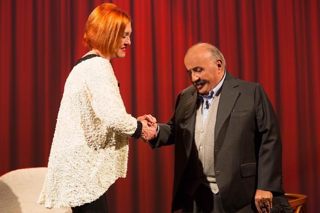 Vanna Marchi e Maurizio Costanzo