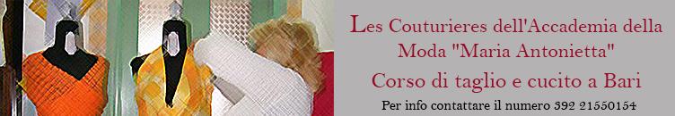 """Les Couturieres dell'Accademia della Moda """"Maria Antonietta"""""""