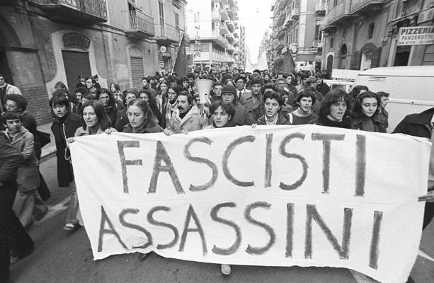 benedetto petrone- manifestazione 29 novembre 1977