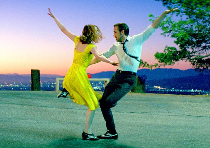 La La Land- film Cinema- Ryan Gosling e Emma stone