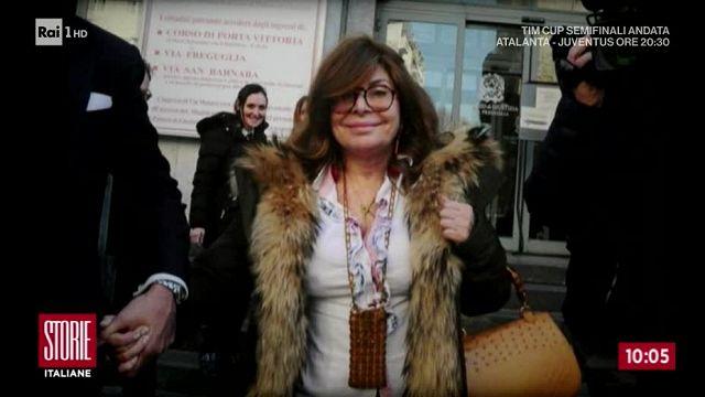 e153e07c40 Patrizia Reggiani condannata per l'omicidio di Maurizio Gucci a Storie  Italiane: rapporti con le figlie inesistenti