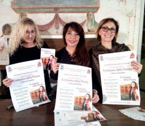 Clelia Conte, Maryam Rahimi e Cinzia Santoro