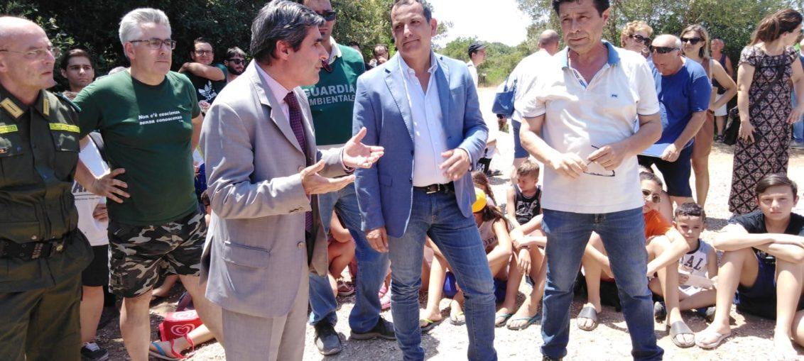 Giuseppe Turco a Manduria- tutela fauna