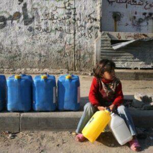 accesso all'acqua,palestinsi discriminazione