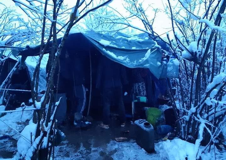 baracche immigrazione clandestina